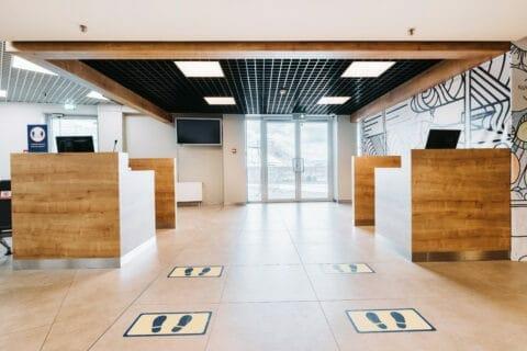 Вильнюсский аэропорт –– терминал отправления